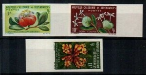 New Caledonia Scott 335-7 Mint NH imperf (complete as issued)