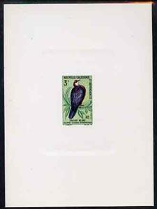 New Caledonia 1966 Birds 3f (White Throated Pigeon) imper...