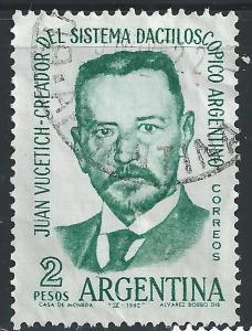 Argentina #741 2p Juan Vucetich