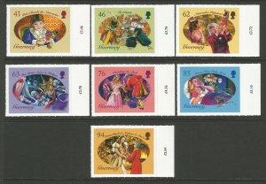 Guernsey 2018 MNH Christmas Panto Nutcracker & Mouse King 7v S/A Set Stamps
