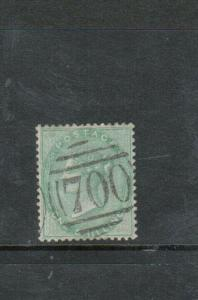 Great Britain #28 Extra Fine Used With Nice #700 Cancel
