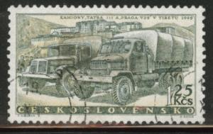 Czechoslovakia Scott 895 used truck stamp CTO