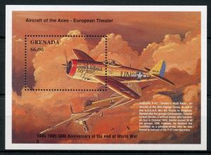 Grenada 1995 MNH WWII WW2 VE Day End World War II 1v S/S Aviation Stamps