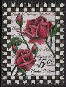 United Nations #753 MNH Stamp - Roses