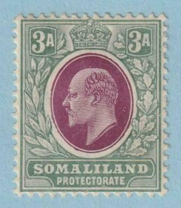 SOMALILAND PROTECTORATE 44a  MINT HINGE REMNANT OG * NO FAULTS EXTRA FINE !