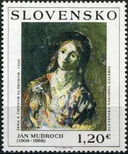 Slovakia. 2009. Art: Ján Mudroch (1909 - 1968) (MNH OG) Stamp