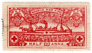 (I.B) India Cinderella : Madras War Fund ½a