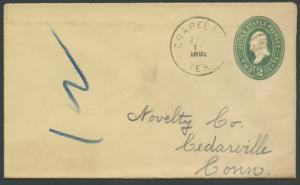 TEXAS HOUSTON CTY (1891 Grapeland) (181)