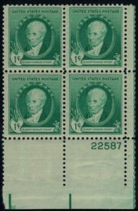 MALACK 884 F-VF OG NH (or better) Plate Block of 4 (..MORE.. pbs884