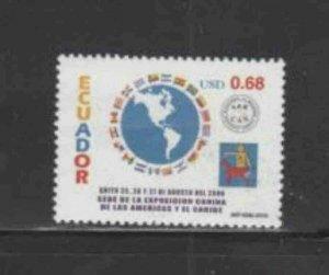 ECUADOR #1524 2000 DOG SHOW MINT VF NH O.G
