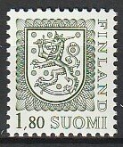 1985 Finland - Sc 713 - MNH VF - 1 single - Coat of Arms