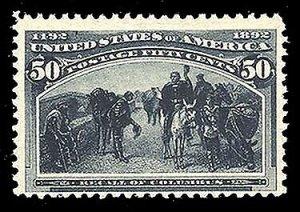 U.S. COLUMBIAN ISSUE 240  Mint (ID # 81550)