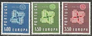 PORTUGAL  875-77 MNH EUROPA Z313