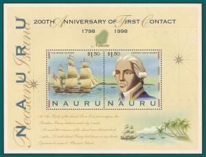 Nauru 1998 First Contact, MS MNH 463b,SGMS495