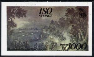 Iso - Sweden 1976 USA Bicentenary (Painting of Battle) im...
