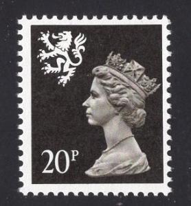 Great Britain Scotland  #SMH39  MNH  Q E II  20 p   Machin