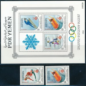 Yemen - Sarajevo Olympic Games MNH Sports Stamps (1984)