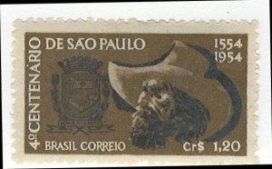 Brazil Scott 734 MLH!