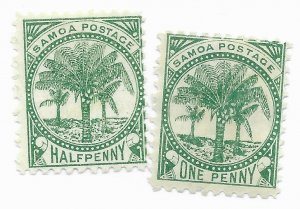 Samoa #11f Used - Stamp CAT VALUE $9.50ea PICK ONE