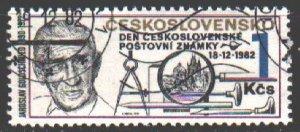 Czechoslovakia. 1982. 2697. Postage Stamp Day. USED.