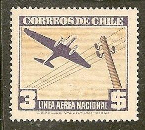 Chile  Scott  C120  Plane    Unused