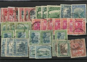 jamaica used stamps ref r8812