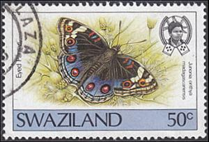 Swaziland # 513 used ~ 50¢ Butterfly