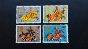 Great Britain 1974 Medieval Knights Used