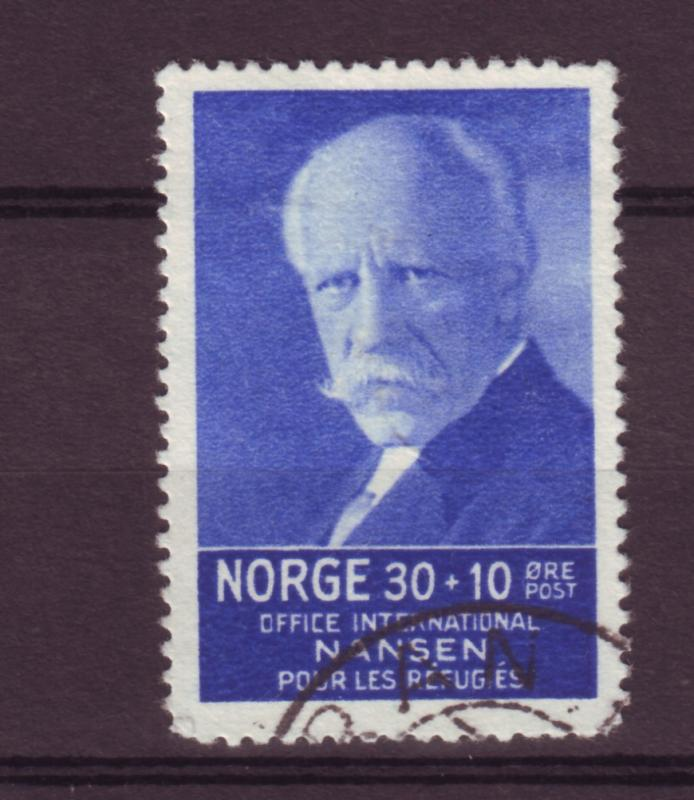 J12668 JLstamps 1935 norway used hv of set #b8 nansen