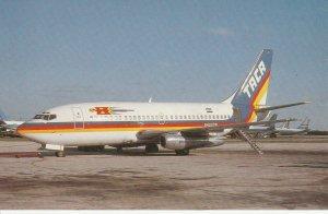 7640 Aviation Postcard  BOEING B.737-247 HONDURAS AT MIAMI  FLORIDA  Airlines