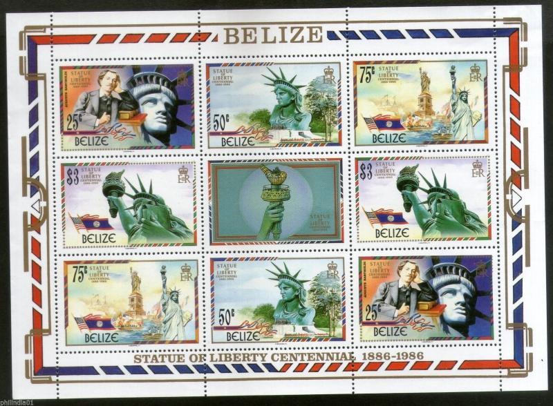Belize Scott 817-818 Mint never hinged.