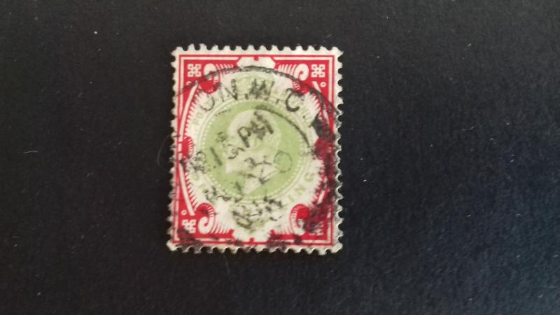 Great Britain 1902 King Edward VII Used