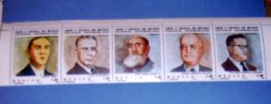 Mexico - 1297a, MNH Set...Scientists. SCV - $4.00