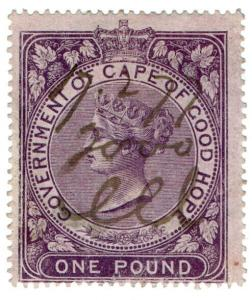 (I.B) Cape of Good Hope Revenue : Stamp Duty £1