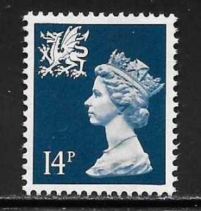 Great Britain Wales WMMH24 14p Machin MNH
