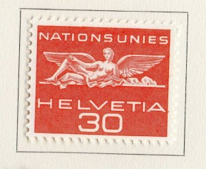 Switzerland Helvetia 1959 Early Issue Fine Mint Hinged 30c. NW-170832