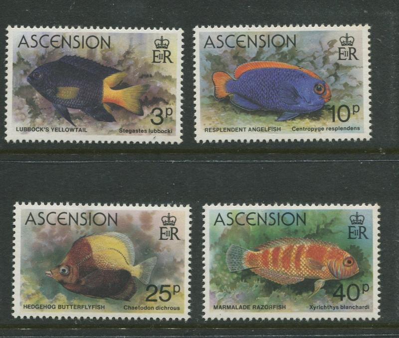 Ascension - Scott 262 - 265 - General Issue -1980 - MNH - Set of 4 Stamps