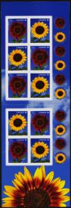 Canada 2444a Booklet MNH Sunflowers