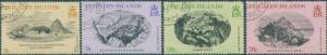 Pitcairn Islands 1979 SG196-199 Engravings set FU