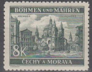 Czechoslovakia- Bohemia & Mor #46  MNH F-VF   (SU1663)