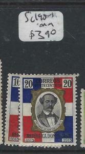 DOMINICAN REPUBLIC  (P0706B) MAN  SC 190-1   MOG