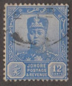 Malaya - Johore Scott #111A Stamp - Used Single