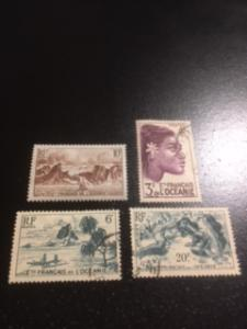 French Polynesia sc 160,171,174,177 MH+UH