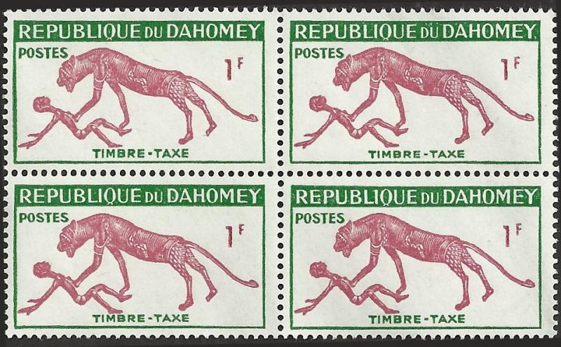 DAHOMEY - J29 - Block - Unused - SCV-1.00