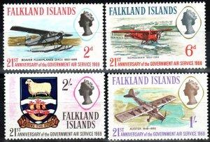 Falkland Islands #180-83  MNH CV $2.95 (X8553)