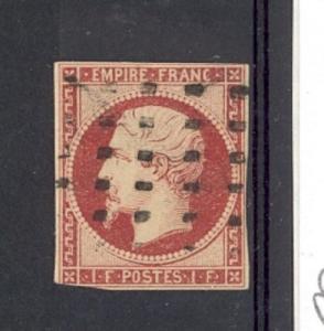 France Scott 21 Used (Catalog Value $3250) 3+ margins