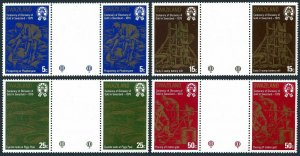 Swaziland 321-324 gutter,MNH.Michel 314-314. Discovery of gold,100th Ann.1979.
