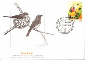 Austria, Postal Stationary, Worldwide First Day Cover, Birds
