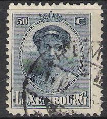 Luxembourg #144 Grand Duchess Charlotte Used
