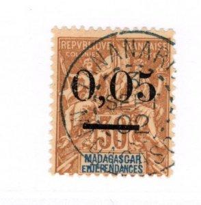 Madagascar #52 Used - Stamp CAT VALUE $11.50